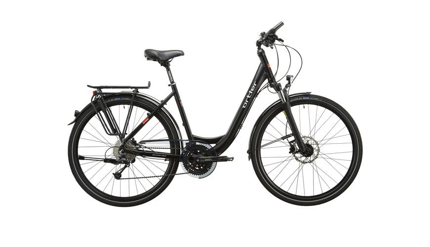 Ortler Wien XXL Naiset pyörä , musta